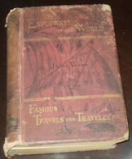 RARE, 1879, 1ST AMERICAN EDITION, JULES VERNE, THE EXPLORATION OF THE WORLD