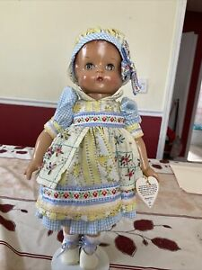 """EFFANBEE GARDEN PARTY PATSY ANN DOLL 18"""" With Dress Excellent Condition V750"""
