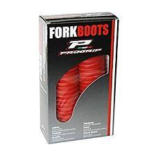 Honda CR125 250 480 500 1981-1989 Fork Gators Skins Boots Red 43mm Protectors