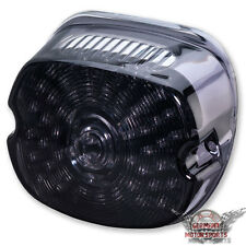 LED FANALE retrovisore Harley Road King 99-13 EFI FLHRI Classic FLHRC FLHR tinteggiato Nero