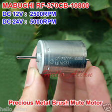 MABUCHI RF-370CB-10800 DC12V 24V 5000RPM Precious Metal-brush DC Motor For DIY