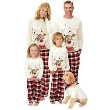 Family Matching Adult Christmas Pyjamas Xmas Nightwear PJs Pajamas Set Festive