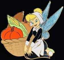 Disney Pin 2006 Thanksgiving Pin Tinker Bell Tink Harvest Jumbo Le 500 Pp #50583