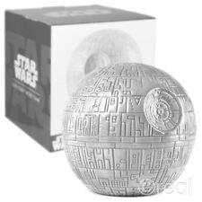 New Star Wars Ceramic Death Star Money Box Piggy Bank Retro Gift Box Official