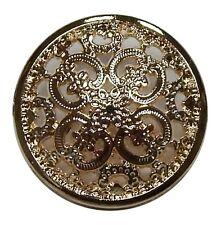 (1.70 euros/unidad) botón de metal oro 22mm