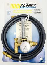 Radnor Hrf1425 580 Ra Flowmeter With Hose 64003041 Hrf1425580ra