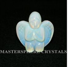 Opalite Crystal Cherub  A Grade Crystal Gemstone 50mm x 50mm x 25mm Angel