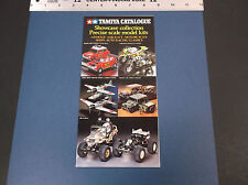 VINTAGE TAMIYA SHOWCASE COLLECTION PRECISION SCALE MODELS BROCHURE  *VG-COND*
