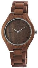 Excellanc Herrenuhr aus Holz Uhr Herren Armbanduhr Echt Echtholz Holzuhr leicht