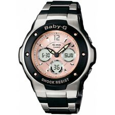 Casio Msg-300c-1ber Baby-g Pink Dial Bracelet 100m UK SELLER