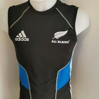 superbe maillot de rugby ALL blacks new zealand adidas taille s