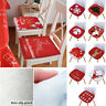 Christmas Seat Pads Kitchen Dining Room Home Garden Office Patio Chair Cushions