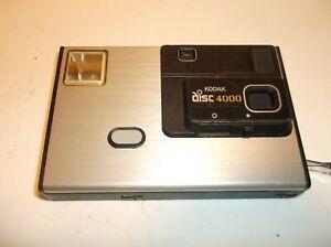 KODAK DISC  4000 (1982-84) CAMERA WITH CASE AND ORIGINAL MANUAL.