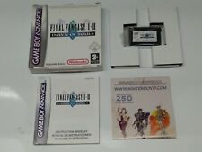 FINAL FANTASY I & II SQUARE - NINTENDO GAME BOY ADVANCE - PAL ESPAÑA