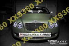 ORACLE Headlight HALO KIT RINGS BENTLEY Continental GT 2004-2009 WHITE LED