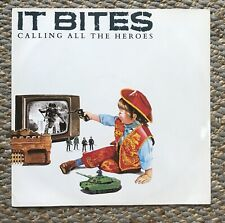 """It Bites Calling All The Heroes 12"""" Vinyl Single Excellent Condition"""