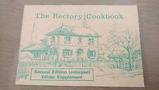 THE RECTORY COOKBOOK / 2nd edition (enlarged) / ethnic supplement / QUEANBEYAN