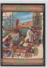 1989 re-Ed Bible Cards Jonah #1 Joppa Non-Sports Card 0q3