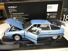 1:18 NOREV CITROEN CX 2400 GTI blue bleu NEU NEW