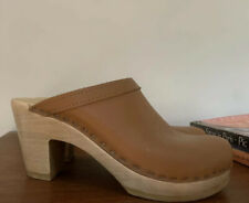 No 6 Clogs High Heel Size 35
