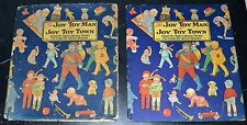 1920s QUEEN HOLDEN Childrens Illustrated w/DJ  JOY TOY MAN OF JOY TOY TOWN K3