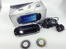PSP-1000 Black Handheld Game Console System + 2 Games Need for Speed & Daxter