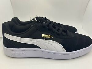 Puma Astro Kick Men's Casual Shoes 369115-01 Black/Wht Sz 10
