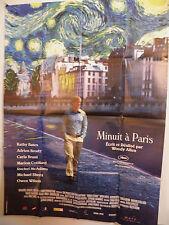 MIDNIGHT IN PARIS Large French poster 2011WOODY ALLEN OWEN WILSON  Adrian Brody