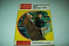 IL GIALLO MONDADORI-N. 797-A.A.FAIR-TURNO DI NOTTE PER BERTHA COOL-10/5/1964