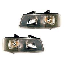 Fits 03-15 Chevrolet Express GMC Savana Driver + Passenger Headlight Lamp 1 Pair