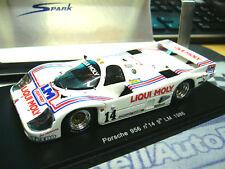 Porsche 956 l GR C liqui Moly le mans 1986 Baldi Dyson #14 Spark resin 1:43