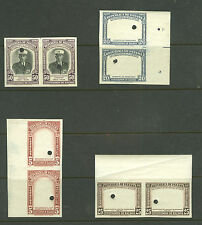 Panama:Firefighting: Waterlow frame proofs for Sc. 358/362, Scarce!