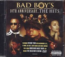 Bad Boy's - 10th Anniversary...The hits  - CD + DVD OST 2004 NEAR MINT CONDITION