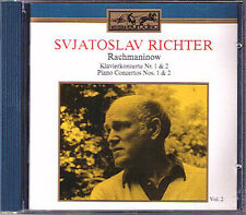 Sviatoslav Richter: Rachmaninov Concerto 1 2 Sanderling CD Piano Kurt