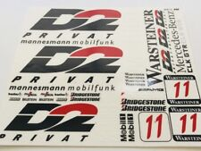 1/10 scale DECAL/STICKER SHEET -RC/MODEL CAR-Tamiya/hpi/decals/Mercedes AMG D2