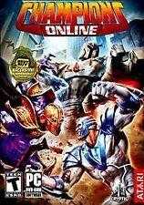 Brand New Sealed ATARI Champions Online City of Heros PC XP, VISTA, WIN7 MADE US