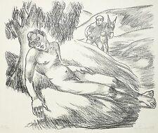 ERICH FRAAß - Samariter - Lithografie 1920-1923