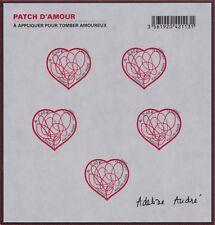 2012 FRANCE BLOC N°F648** BF AUTOADHESIF Saint Valentin Patch d'Amour d'Adeline