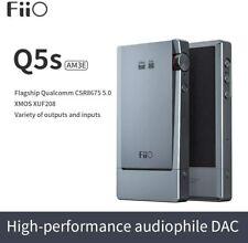 FiiO Q5s Portable Bluetooth 5.0 AK4493EQ DSD-Capable DAC & Headphone Amplifier