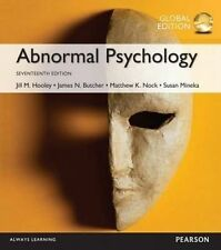 Abnormal Psychology 17th Edition By Holley, Nock, Butcher, Mineka 9781292157764