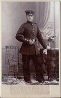 CDV photo Soldat - Bernburg 1900er