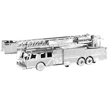 Metal Earth Fire Engine Truck 3D Laser Cut Metal DIY Model Rescue Build Kit