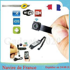1080P Caméra Mini Espion Sans Fil Wifi Cam Vidéo DVR Cachée Micro Surveillance