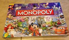 MONOPOLY Disney Theme Park Edition III w/ Pop-Up Castle Game NEW factory sealed