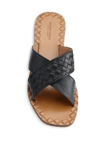 NIB Bottega Veneta Crisscross Flat Sandals NIB SZ 36.5EU / 6.5US