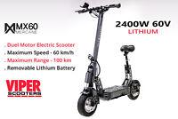 New Mercane MX60 Smart Electric Scooter 2000W 60km/h 100km Range