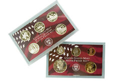 2001-S 10 Coin Silver Proof Set OGP W/COA