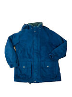 Pacific Trail Hiking Wet Weather navy Lined Jacket Men's Size M Polymicrofibre