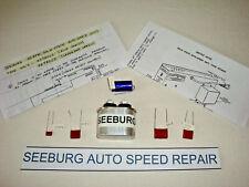 Seeburg Jukebox, Auto Speed Capacitor Kit, Repairs Slow Jukes from 1963 to 1967