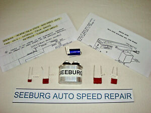 Seeburg Jukebox, Auto Speed Capacitor Kit, Repairs Slow Jukes from 1963 to 1967